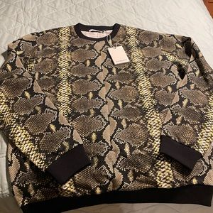 *NEW* Rare Givenchy Snakeskin Sweater - XXL